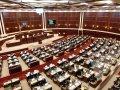 """Parlament """"Dövlət Gerbi haqqında"""" qanun layihəsini birinci oxunuşda qəbul edib"""