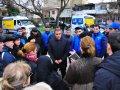 Deputatlığa namizəd Ramin Əhmədov Yasamalda seçicilərlə görüşlərini davam etdirir - Foto