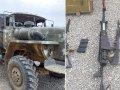 Ermənilərin döyüş meydanında qoyub qaçdığı silah-sursat və texnikalar (FOTOLAR)