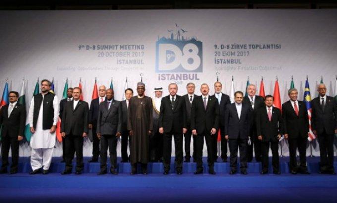 Prezident İlham Əliyevin də iştirak etdiyi D-8 Zirvə görüşü başladı - VİDEO