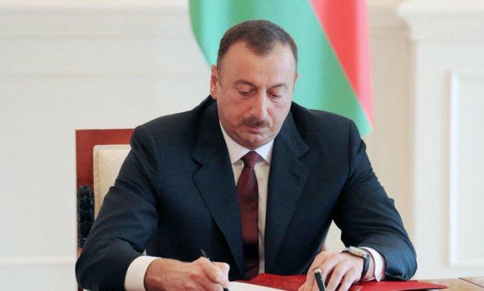 Prezident İlham Əliyev azərbaycanlıların soyqırımı ilə bağlı sərəncam imzaladı