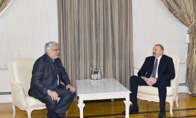 Prezident İlham Əliyev Paraqvay Senatının sədrini qəbul edib