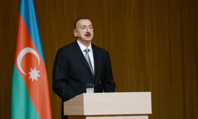 """Prezident İlham Əliyev: """"Sahibkarlara Azərbaycanda gözəl şərait yaradılıb"""""""