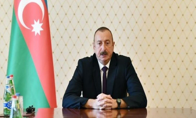 Prezident İlham Əliyev hüquq-mühafizə orqanları rəhbərlərini topladı (FOTO)