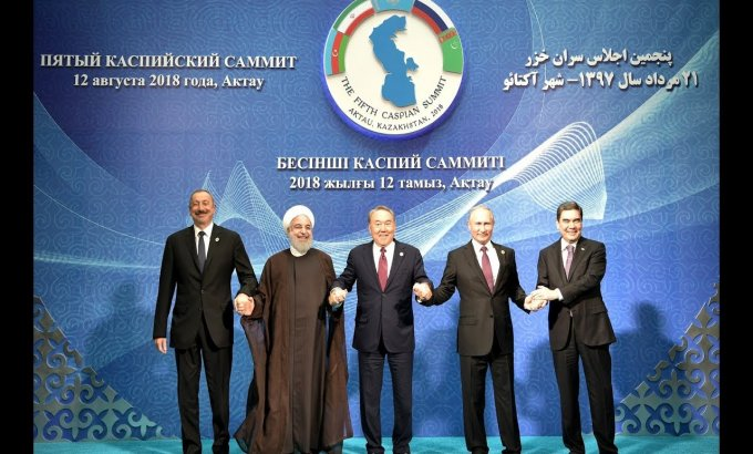 Xəzərin hüquqi statusuna dair Konvensiya imzalandı