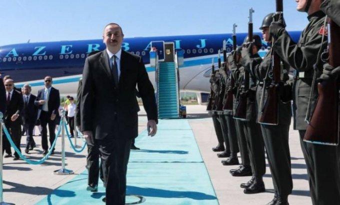 Prezident İlham Əliyev Türkiyəyə getdi