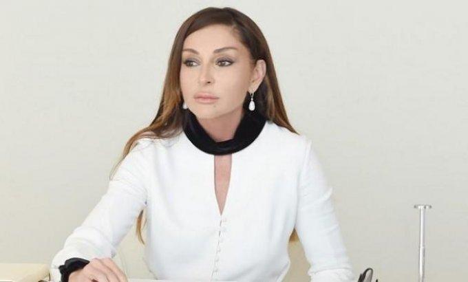 """""""Ümummilli lider bütün ömrü boyu vətəninə sədaqətlə xidmət edib"""" –Mehriban Əliyeva"""