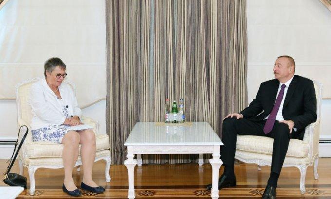 Prezident İlham Əliyev AŞPA Prezidentini qəbul edib