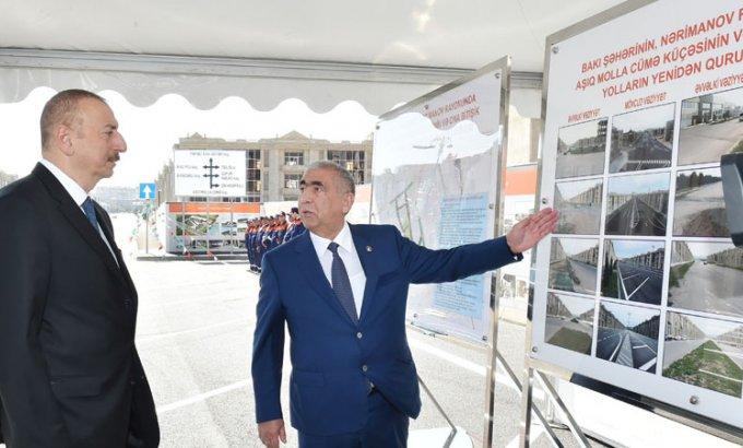 Prezident İlham Əliyev Bakıda açılış etdi