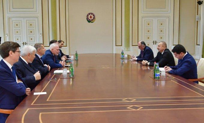 Prezident İlham Əliyev Minsk qrupunun həmsədrlərini qəbul etdi