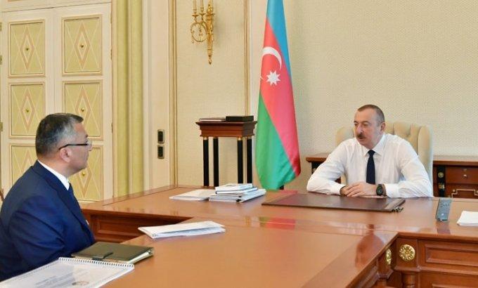 Prezident İlham Əliyev Rövşən Rzayevi qəbul etdi