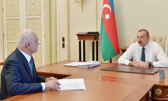 Prezident İlham Əliyev Baş nazirin yeni müavinini qəbul etdi