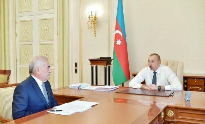 Prezident İlham Əliyev Vasif Talıbovu qəbul etdi