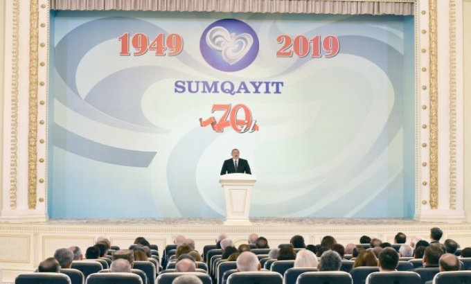 Prezident İlham Əliyev AXC-Müsavat hakimiyyətinin çöküşü haqda