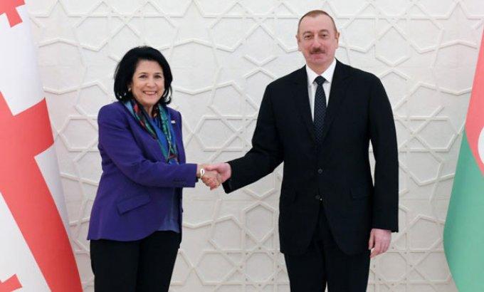 """Zurabişvili: """"İlham Əliyev zəmanəmizin ən uğurlu liderlərindən biridir"""""""