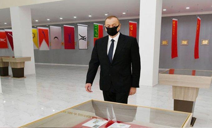 Prezident Dövlət Rəmzləri Muzeyinin açılışını etdi - FOTO