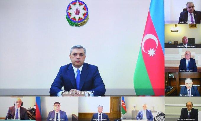 Samir Nuriyev Korrupsiyaya qarşı mübarizə üzrə Komissiyanın sədri seçildi