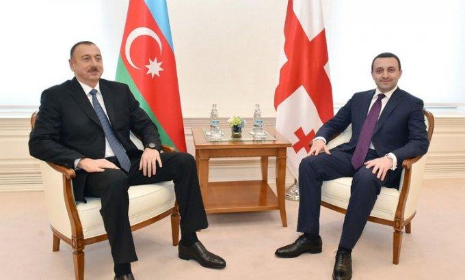 Prezident Gürcüstanın Baş nazirini qəbul etdi
