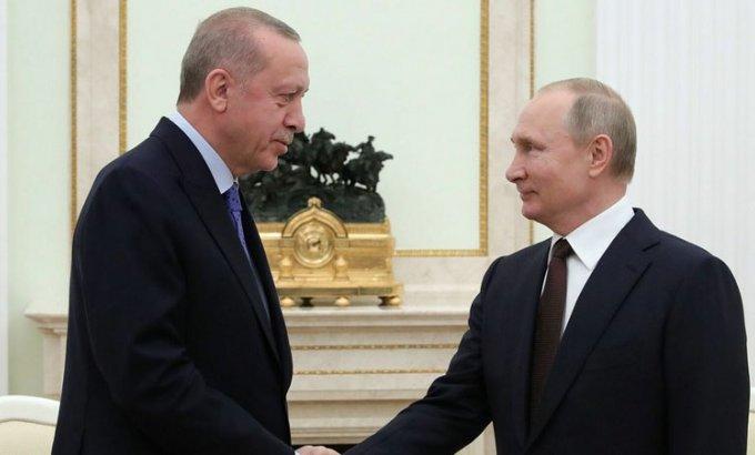 Ərdoğan və Putin Qarabağ məsələsini müzakirə etdi