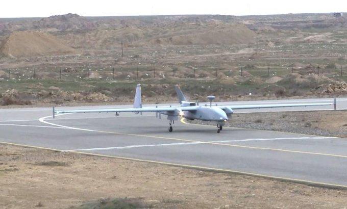 Azərbaycan Ordusunun PUA heyətləri təlim tapşırıqlarını icra edir - VİDEO