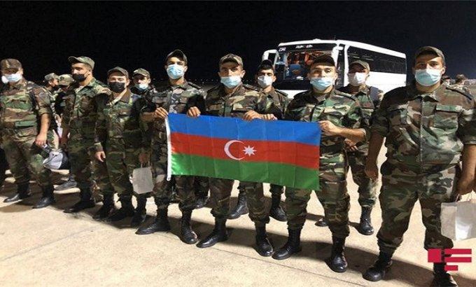 Azərbaycanlı yanğınsöndürənlər Türkiyəyə çatdı (VİDEO)
